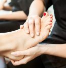 Different kinds of pedicure at salons